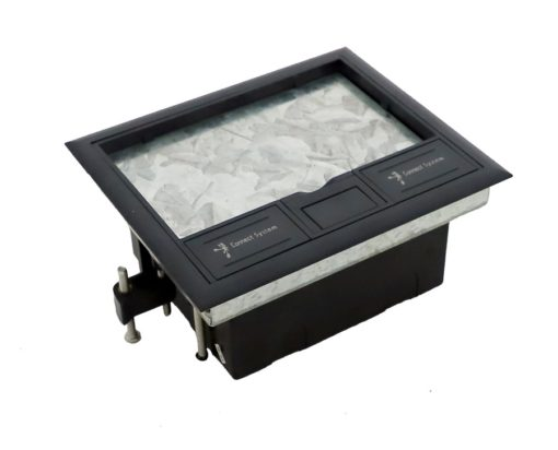 Electrical Floor Outlet Box for Raised Access Floors