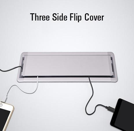 3 side flip cover