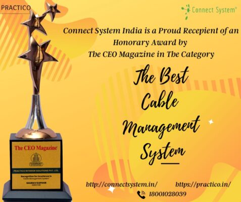 Connect system award | cable cubby manufacturer